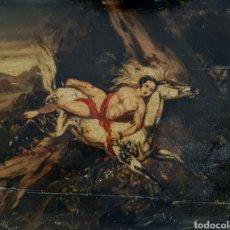 Arte: RETABLO MITOLÓGICO ? . POSIBLEMENTE DEL SIGLO XVII O XVIII. Lote 212438483