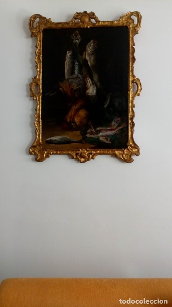 PINTURA ESPAÑOLA DEL SIGLO XVIII. BODEGÓN. (Arte - Pintura - Pintura al Óleo Antigua siglo XVIII)
