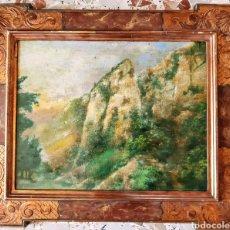 Arte: ÓLEO ANÓNIMO SOBRE TABLERO. Lote 194993357