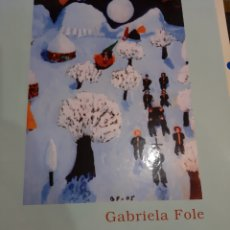 Arte: 2007 GRABRIELA FILE PINTORA NAESRRIS DE LA PINTURA Y ESCULTURA GALEGA. Lote 194993475
