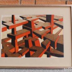 Arte: OLEO SOBRE TABLEX DE RINALDO PALUZZI . Lote 195023415
