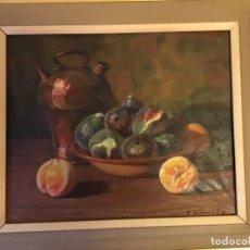 Arte: BODEGÓN F.DOMINGO. Lote 195030350