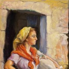 Arte: ANGEL GARAVILLA . Lote 195049042
