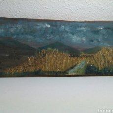 Arte: PINTURA OLEO SOBRE TABLA. Lote 195049158