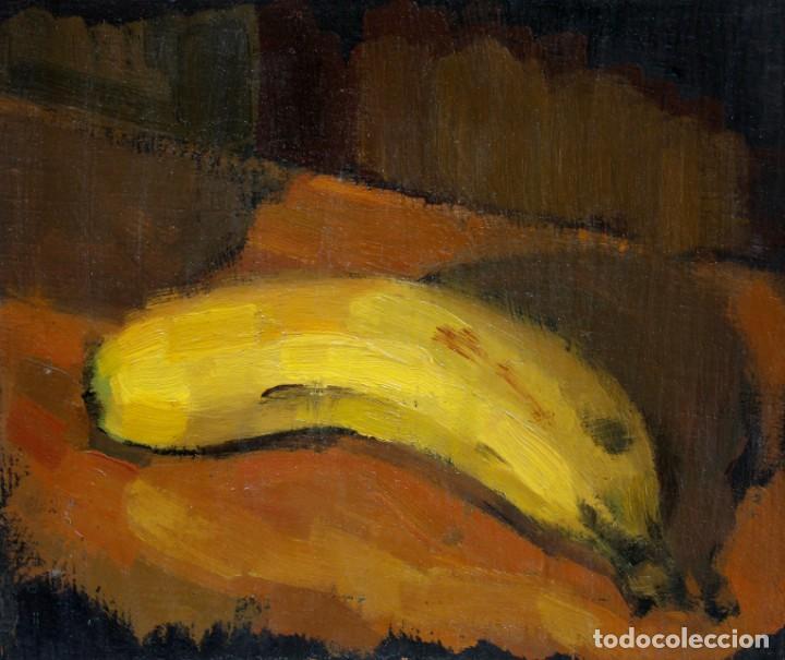APUNTE DEL NATURAL (PLÁTANO) - CARLOS ASENSIO (Arte - Pintura - Pintura al Óleo Contemporánea )