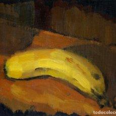 Arte: APUNTE DEL NATURAL (PLÁTANO). Lote 195052632