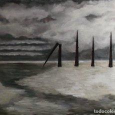 Arte: ALMA ROTA, ÓLEO SOBRE LIENZO. Lote 195075027