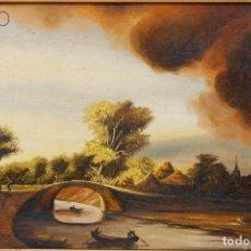 Arte: CUADRO ÓLEO. Lote 195080897
