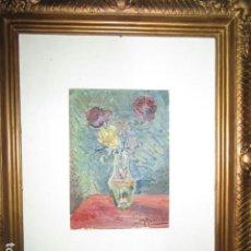 Arte: ANTIGUA PINTURA ALICANTINA AL OLEO ORIGINAL DE MELCHOR ARACIL GALLEGO 1906 -.1966 ALICANTE. Lote 195090858