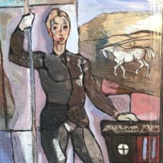 Arte: MIGUEL TORNER DE SEMIR. OLEO SOBRE TABLEX. Lote 195092272