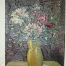Arte: PINTURA ALICANTINA OLEO MELCHOR ARACIL 1906 1966 ALICANTE COMPAÑERO HOGUERAS DE GASTON CASTELLO. Lote 195100806
