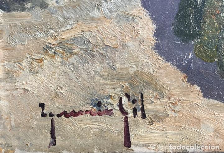Arte: Ignacio Gil Sala - Ibiza - Óleo lienzo 38x46 - Foto 2 - 195102886