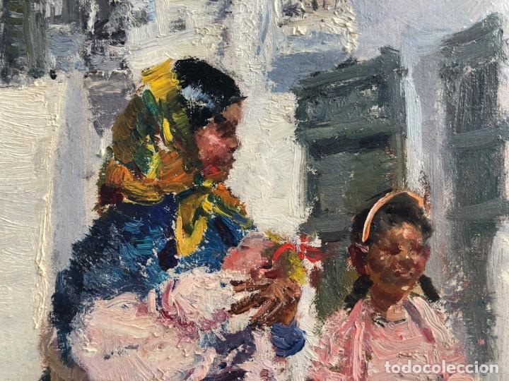 Arte: Ignacio Gil Sala - Ibiza - Óleo lienzo 38x46 - Foto 5 - 195102886