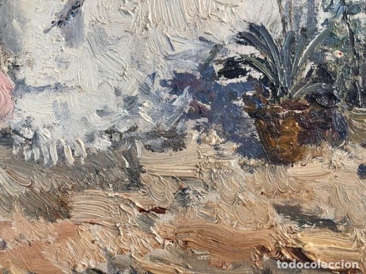 Arte: Ignacio Gil Sala - Ibiza - Óleo lienzo 38x46 - Foto 7 - 195102886