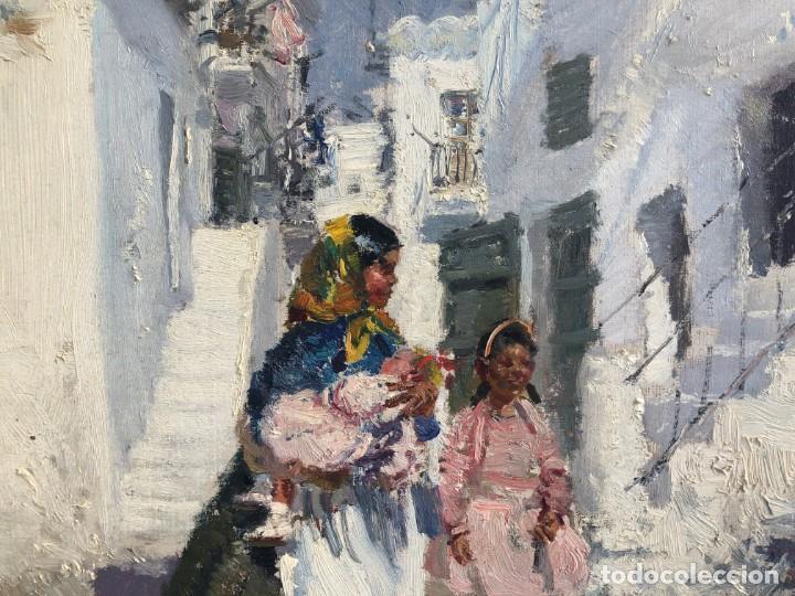 Arte: Ignacio Gil Sala - Ibiza - Óleo lienzo 38x46 - Foto 8 - 195102886
