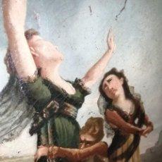 Arte: CUADRO A IDENTIFICAR ENTIERRO GUERRAS NAPOLEONICAS. Lote 195111948