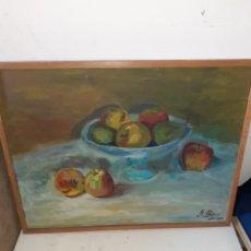 Arte: BODEGÓN AL ÓLEO. Lote 195113898