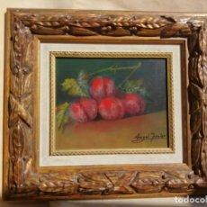 Arte: CUADRO AL OLEO DE ANJEL JURADO PINTOR DE ALMADEN. Lote 195126806