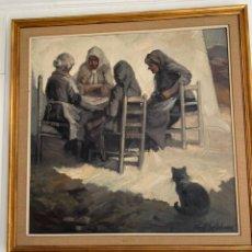 """Arte: """"LAS VIEJAS"""" DE FONT SELLABONA. Lote 195145767"""
