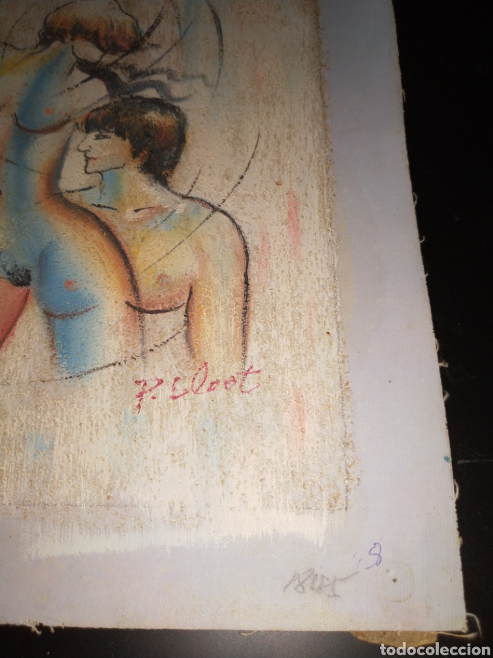 Arte: Óleo sobre tela - Foto 2 - 195160593
