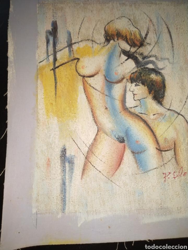 Arte: Óleo sobre tela - Foto 3 - 195160593