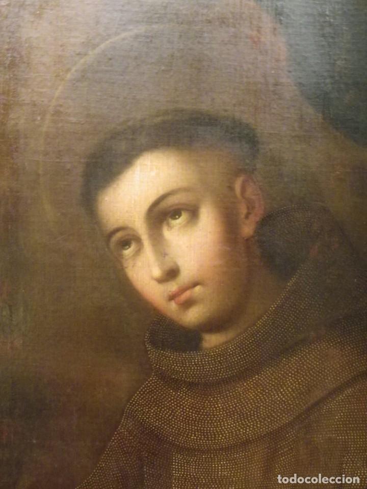 Arte: José de Páez. San Antonio con el Niño Jesús. Pieza para museo - Foto 7 - 195172568