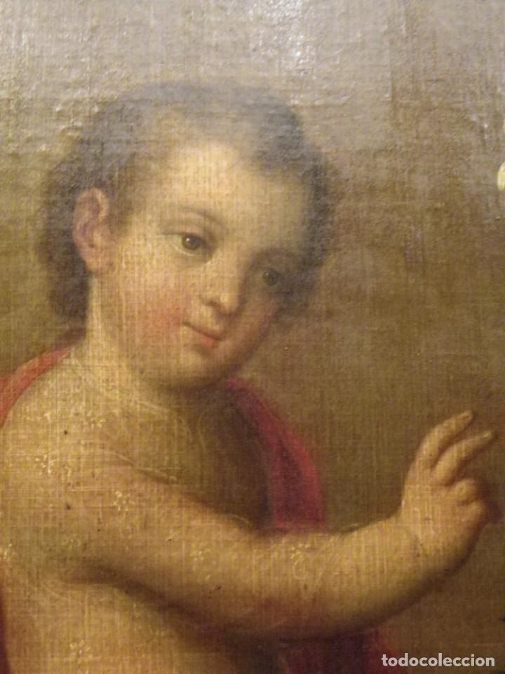 Arte: José de Páez. San Antonio con el Niño Jesús. Pieza para museo - Foto 10 - 195172568