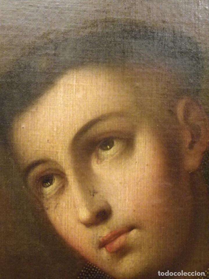 Arte: José de Páez. San Antonio con el Niño Jesús. Pieza para museo - Foto 12 - 195172568