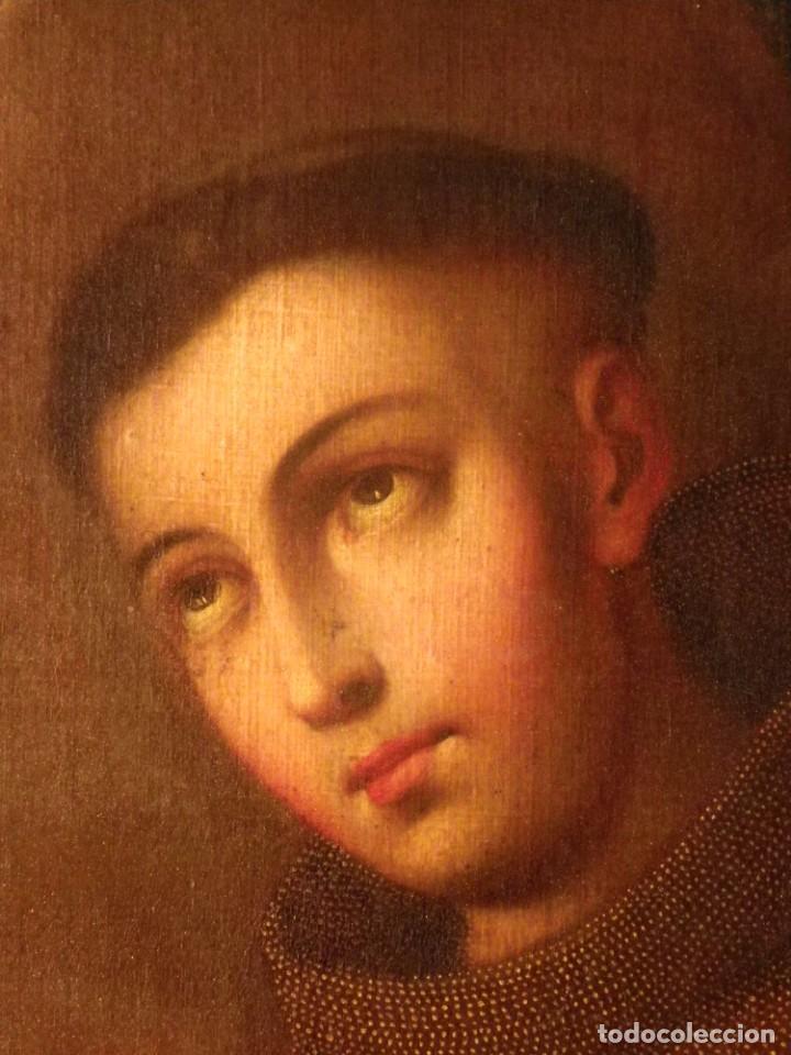 Arte: José de Páez. San Antonio con el Niño Jesús. Pieza para museo - Foto 16 - 195172568