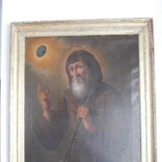 Arte: PINTURA AL OLEO CON MARCO ORIGINAL,FIRMADA,ENRIQUE MORENO RUBI,MADRID 1847,GUADALAJARA 1882. Lote 195173276