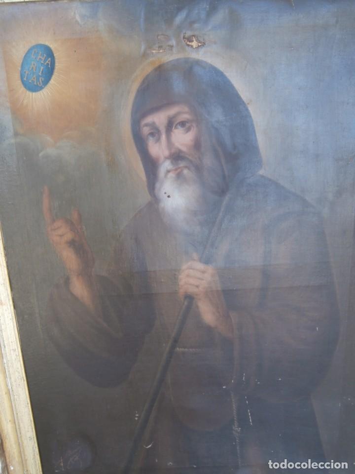 Arte: pintura al oleo con marco original,firmada,enrique moreno rubi,madrid 1847,guadalajara 1882 - Foto 2 - 195173276
