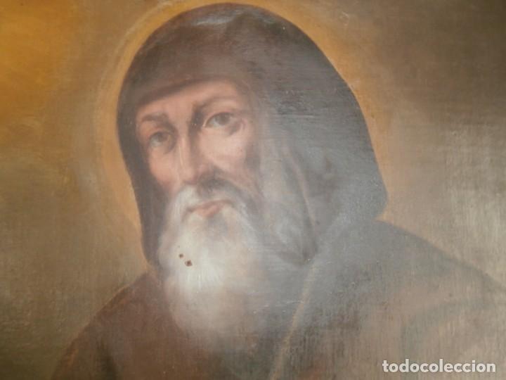 Arte: pintura al oleo con marco original,firmada,enrique moreno rubi,madrid 1847,guadalajara 1882 - Foto 9 - 195173276
