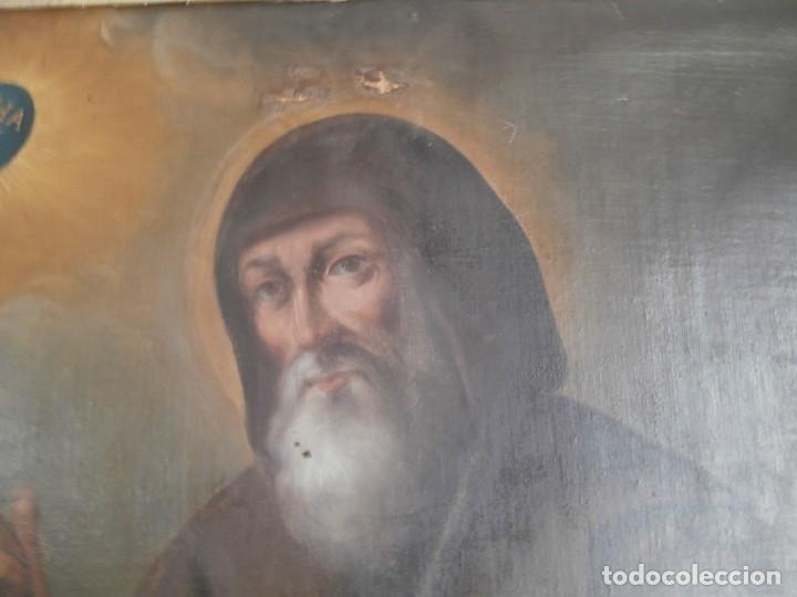 Arte: pintura al oleo con marco original,firmada,enrique moreno rubi,madrid 1847,guadalajara 1882 - Foto 10 - 195173276