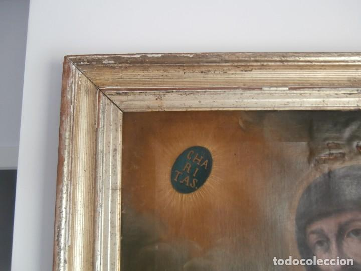 Arte: pintura al oleo con marco original,firmada,enrique moreno rubi,madrid 1847,guadalajara 1882 - Foto 13 - 195173276