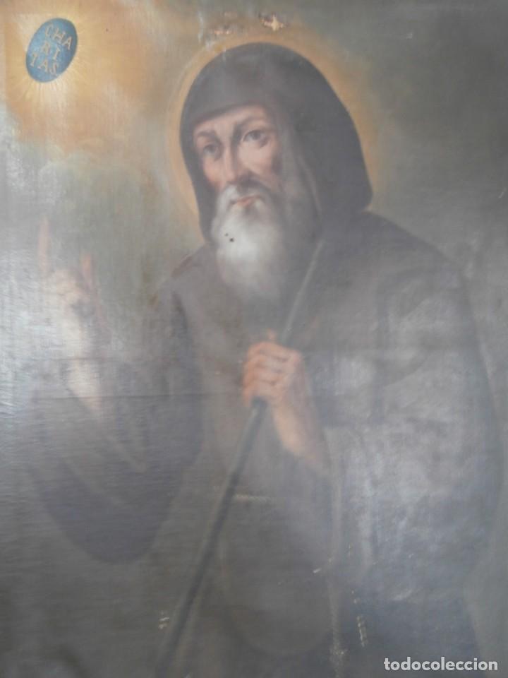 Arte: pintura al oleo con marco original,firmada,enrique moreno rubi,madrid 1847,guadalajara 1882 - Foto 16 - 195173276