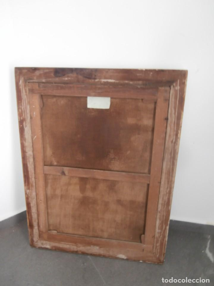 Arte: pintura al oleo con marco original,firmada,enrique moreno rubi,madrid 1847,guadalajara 1882 - Foto 17 - 195173276