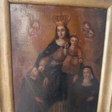 Arte: OLEO SOBRE LIENZO,PINTURA DE ESCUELA ESPAÑOLA SIGLO XVII-XVIII. Lote 195173600