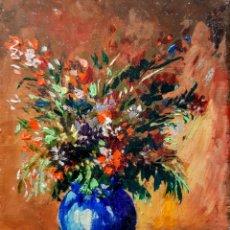 Arte: ÓLEO SOBRE TABLERO DE MAX FLEGIER. Lote 195174000