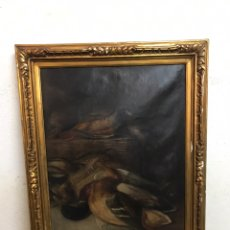 Arte: PINTURA AL ÓLEO SOBRE LIENZO S XIX / XX SIN FIRMA EN BUEN ESTADO. Lote 195182723