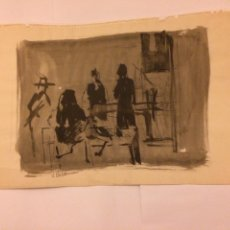 Arte: DIBUJO VOLDEMAR BOBERMAN. Lote 195237305