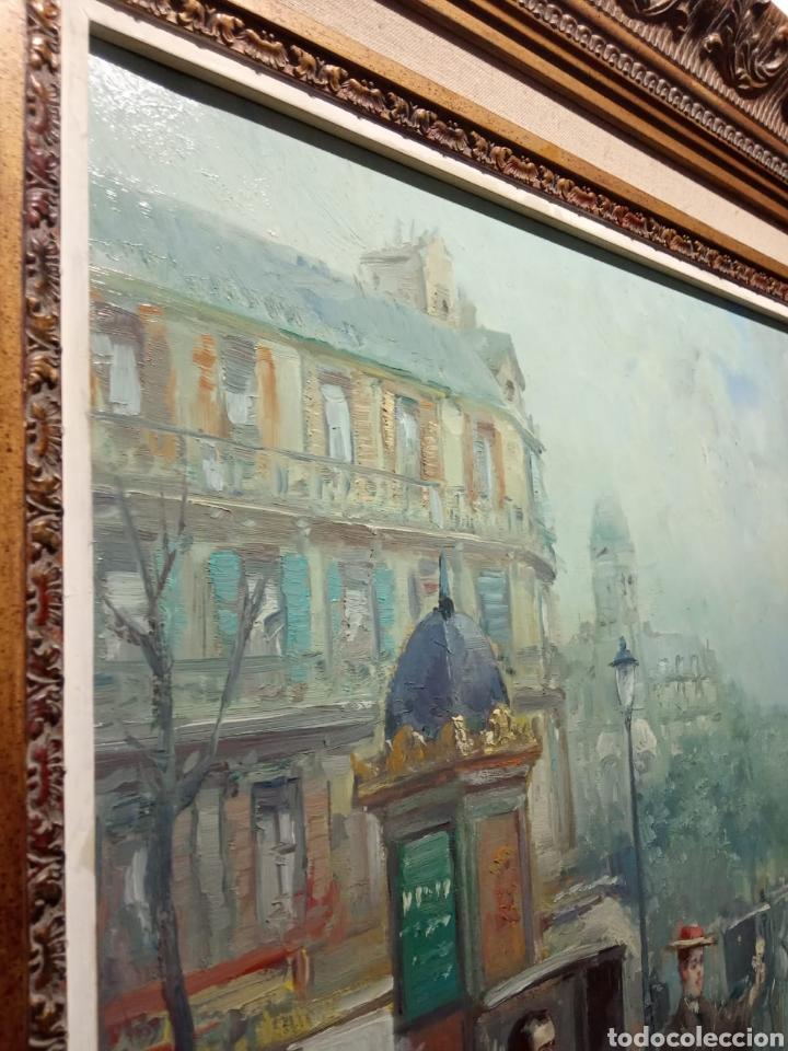 Arte: Pintura al óleo sobre lienzo firmada por Juan de la Cruz Soler - Foto 4 - 195239076