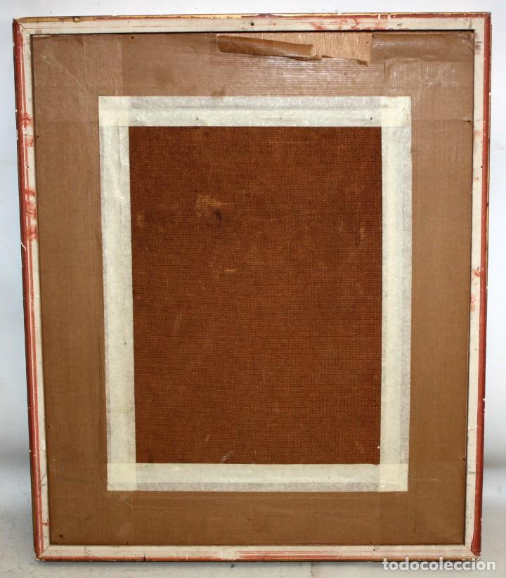 Arte: ROY M. STEINBERG (Usa, Siglo xx) OLEO SOBRE TABLEX FIRMADO. RETRATO DE UN CHIAPA - Foto 8 - 195243482