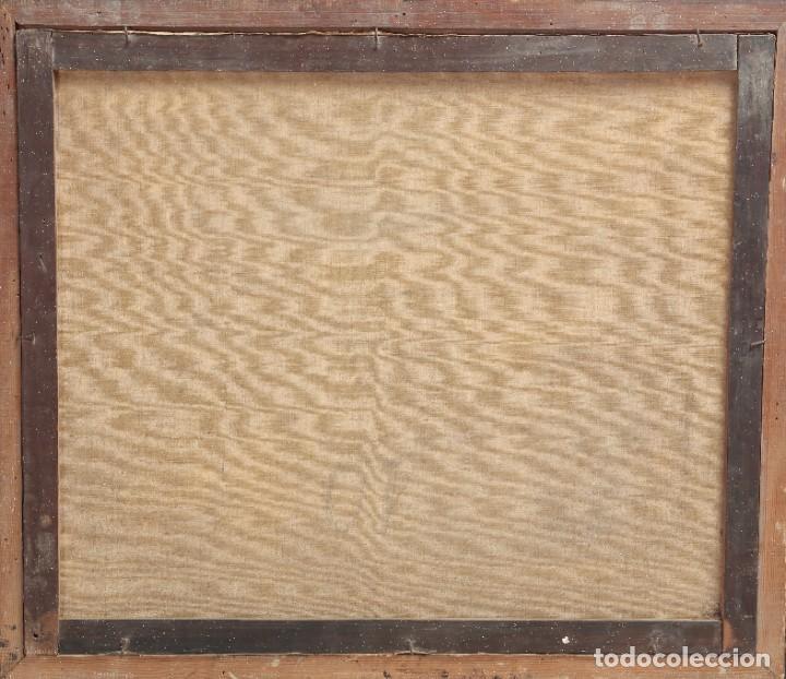 Arte: ÓLEP PINTOR C. FABREGAT - PAISAJE VISTA RURAL - JULIO DE 1939 - OBRA POST-GUERRA - 58 x 69 cm - Foto 4 - 195252310