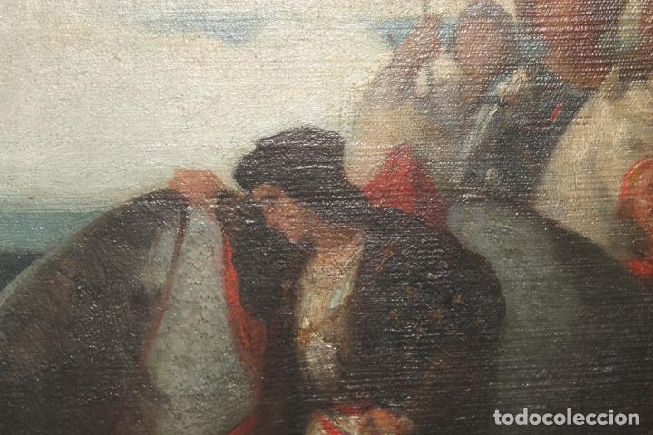 Arte: CUADRO, JOSE CASADO DEL ALISAL, FIRMADO, OLEO SOBRE TABLA (D8) - Foto 2 - 195261795