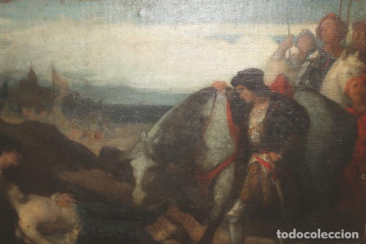 Arte: CUADRO, JOSE CASADO DEL ALISAL, FIRMADO, OLEO SOBRE TABLA (D8) - Foto 3 - 195261795
