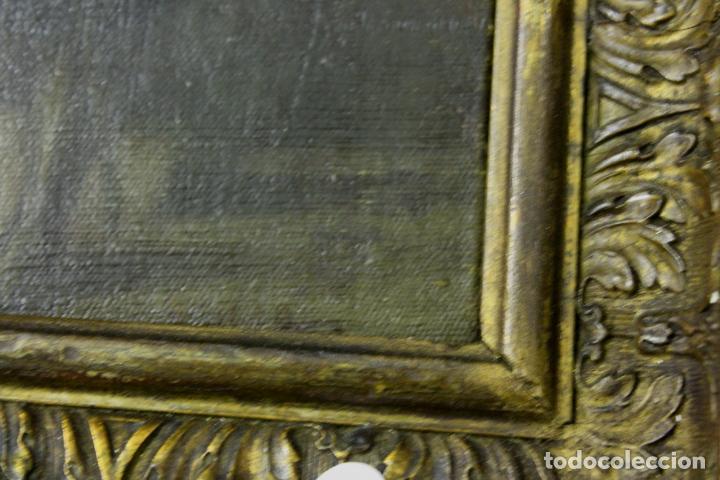 Arte: CUADRO, JOSE CASADO DEL ALISAL, FIRMADO, OLEO SOBRE TABLA (D8) - Foto 5 - 195261795