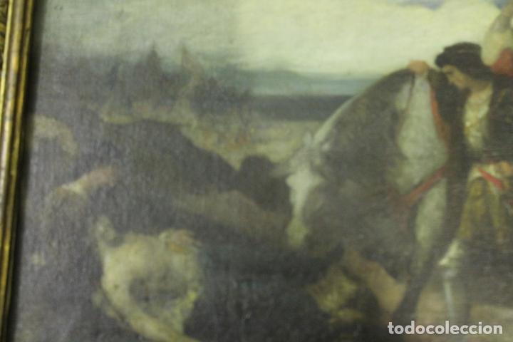 Arte: CUADRO, JOSE CASADO DEL ALISAL, FIRMADO, OLEO SOBRE TABLA (D8) - Foto 7 - 195261795