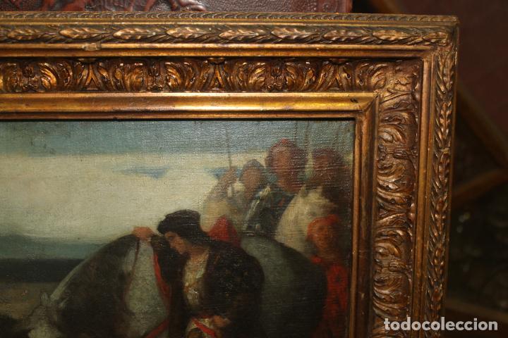 Arte: CUADRO, JOSE CASADO DEL ALISAL, FIRMADO, OLEO SOBRE TABLA (D8) - Foto 9 - 195261795