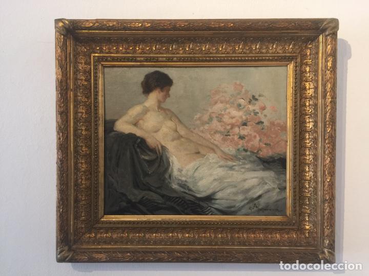 GASTON-HOFFMANN (PARIS 1883-1977) (Arte - Pintura - Pintura al Óleo Moderna siglo XIX)