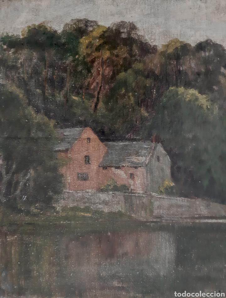 Arte: Óleo sobre lienzo de Will Fenton ( Escuela Inglesa ) de 53 x 37,5 - Foto 2 - 195275711